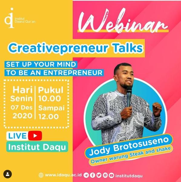 Webinar Creativepreneur Talks
