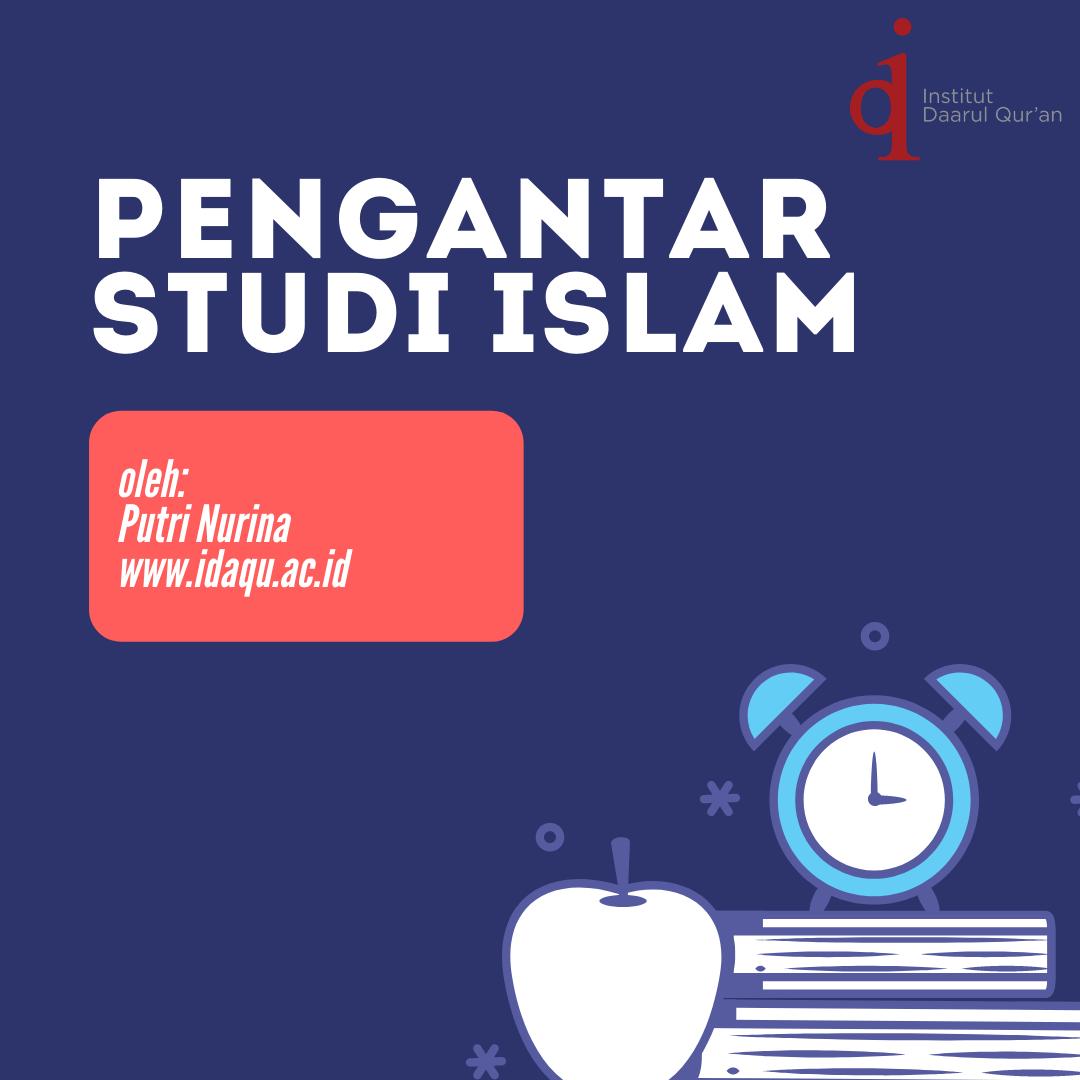 Pengantar Studi Islam