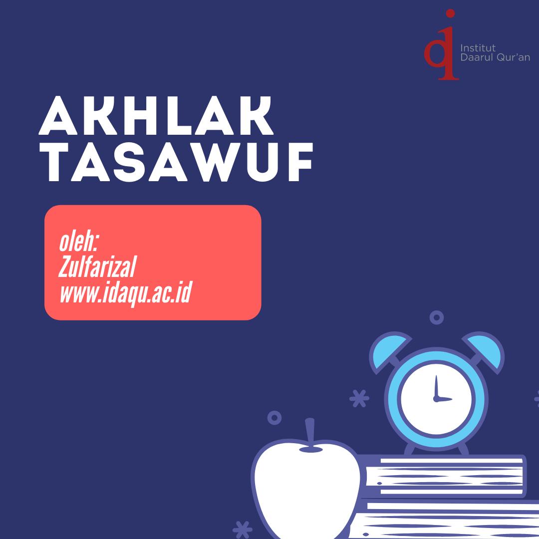 Akhlak Tasawuf